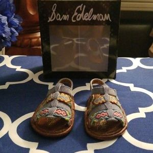Sam Edelman Baby Sandals
